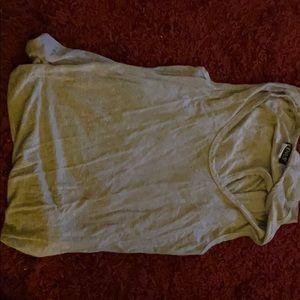 Light gray ruched dress from Venus size medium.